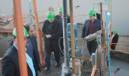 وزیر صنعت، معدن و تجارت از مجتمع طلای موته بازدید کردند