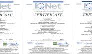 تمدید گواهینامه های ISO برای پانزدهمین سال پیاپی