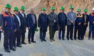 بازدید دکترشهیدی معاون وزیر صنعت، معدن و تجارت از مجتمع طلای موته