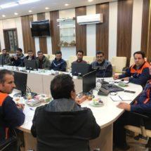 جلسه اختصاصی مدیرمجتمع طلای موته با سرپرستان و کارکنان بخش معدن و تعمیرگاه ماشین آلات سنگین